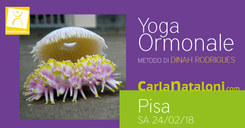 Seminario Yoga Ormonale Pisa - Carla Nataloni