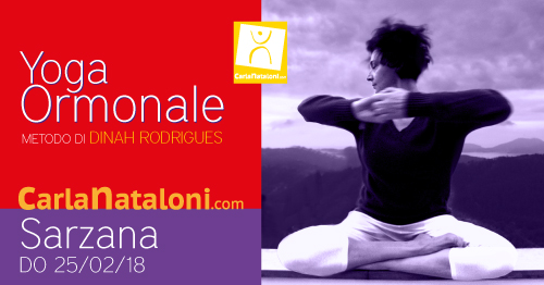 Seminario Yoga Ormonale Sarzana - Carla Nataloni