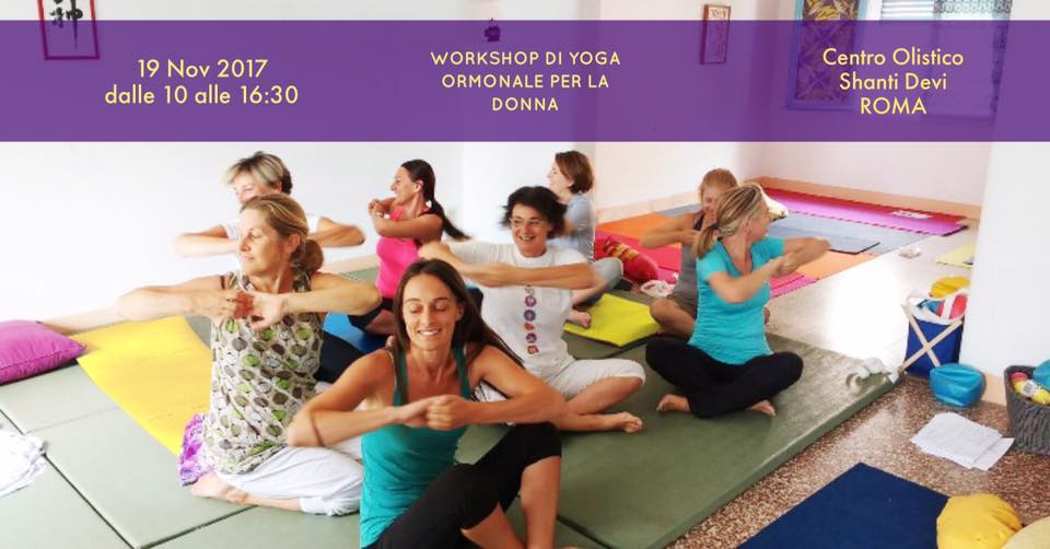 seminario yoga ormonale donna - Roma