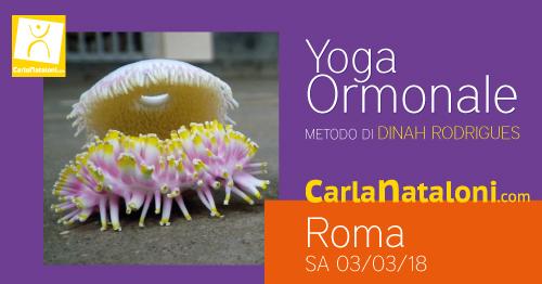 Seminario Yoga Ormonale Roma - Carla Nataloni