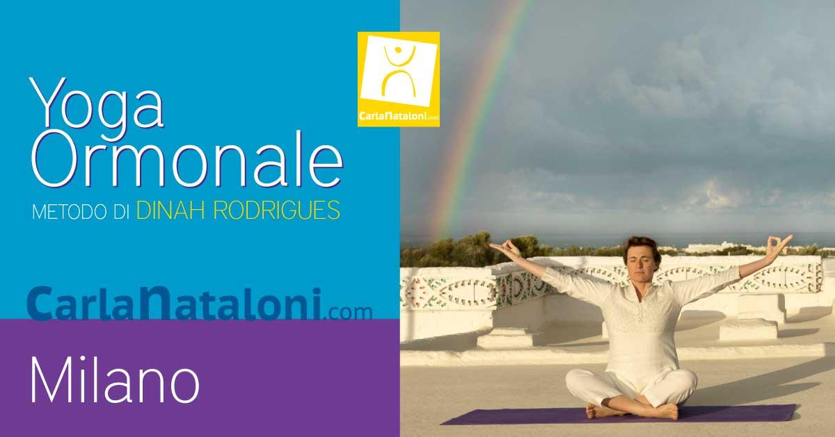 Lezionediintroduzione allo Yoga Ormonaleper lo stress e gli ormonidegli uomini e delle donne - Milano