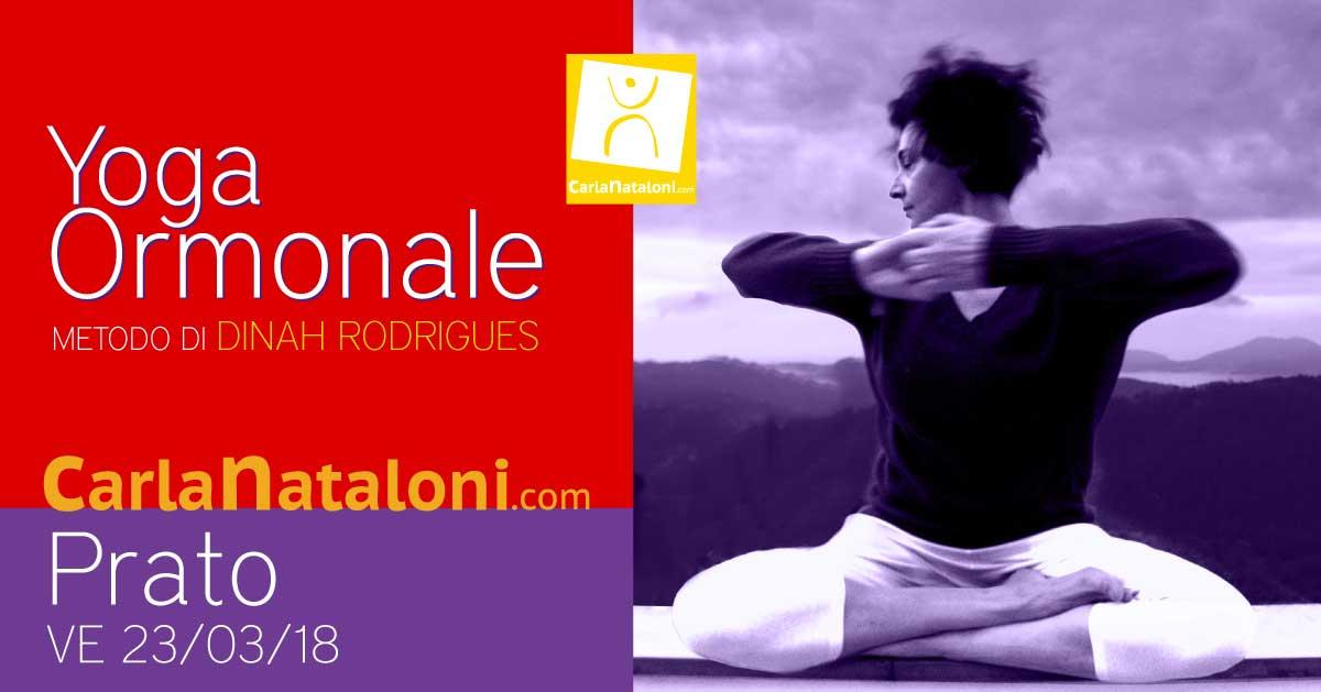 Seminario di Yoga ormonale per la salute delle donne - Villa del Parco (Prato)