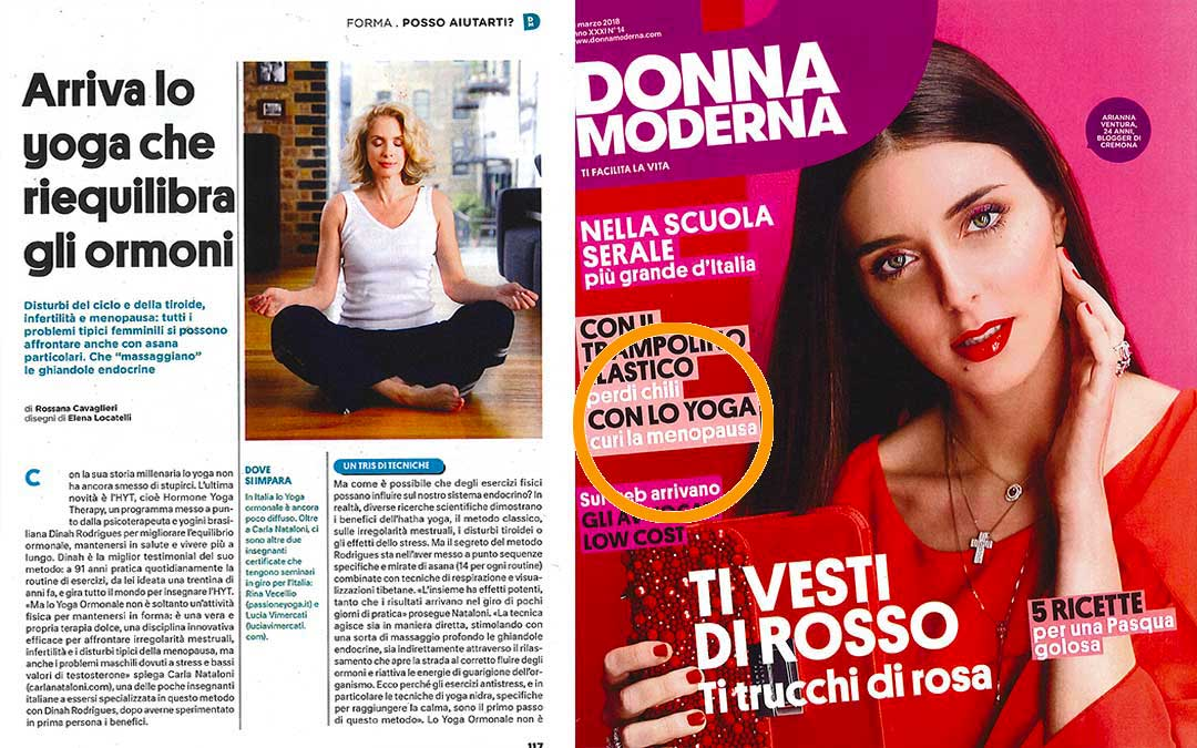 Donna Moderna Yoga Ormonale