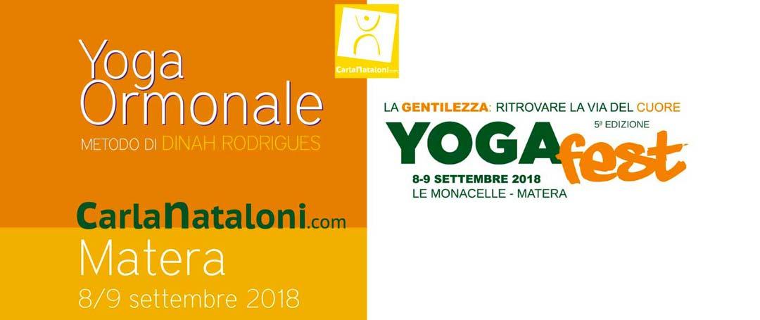 YogaFest 2018 di Matera - Yoga Ormonale