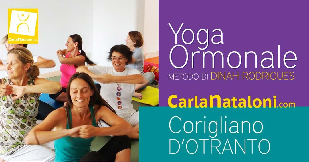 Mini Corso di Yoga Ormonale in Puglia Salento Otranto dal 10 al 11 Luglio