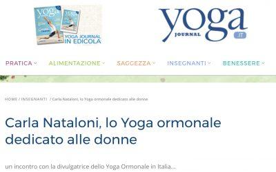 Carla Nataloni, lo Yoga ormonale dedicato alle donne
