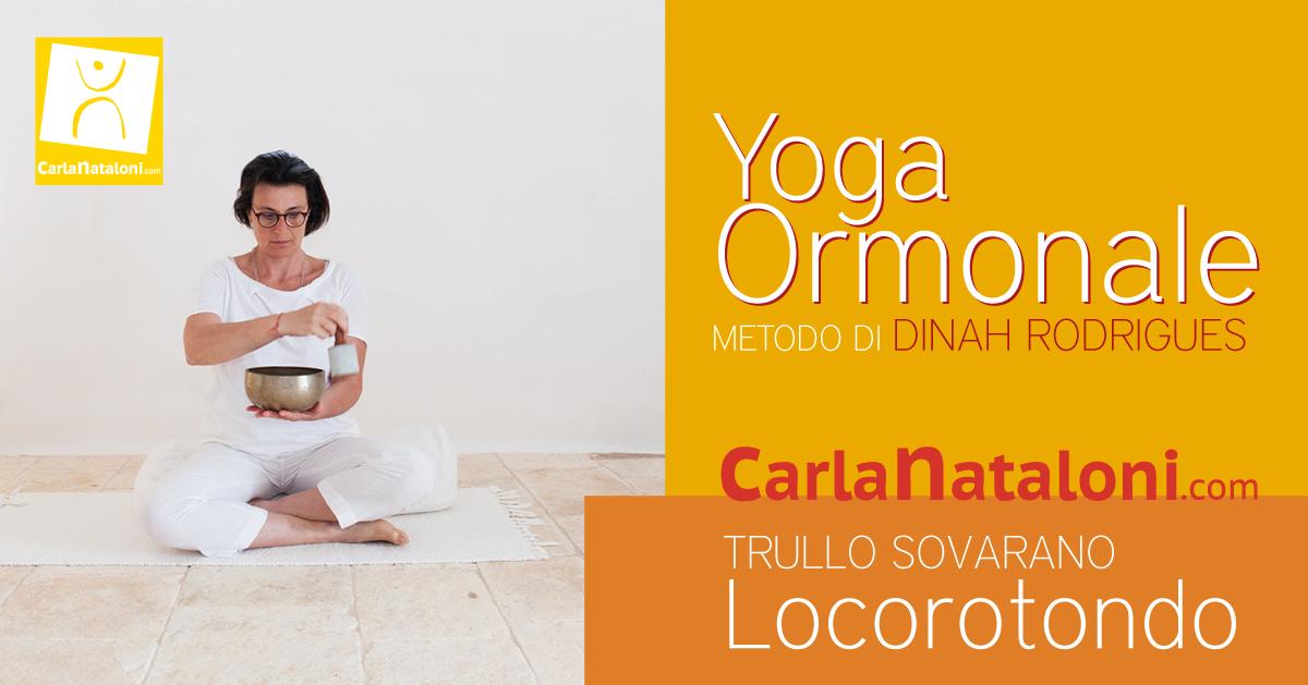 Yoga Ormonale IN PUGLIA a Locorotondo, con Carla Nataloni Yoga