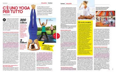 C'è uno yoga per tutto – Star Bene 14 Agosto 2018