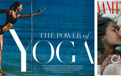 The power of Yoga – Vanity Fair Agosto 2018