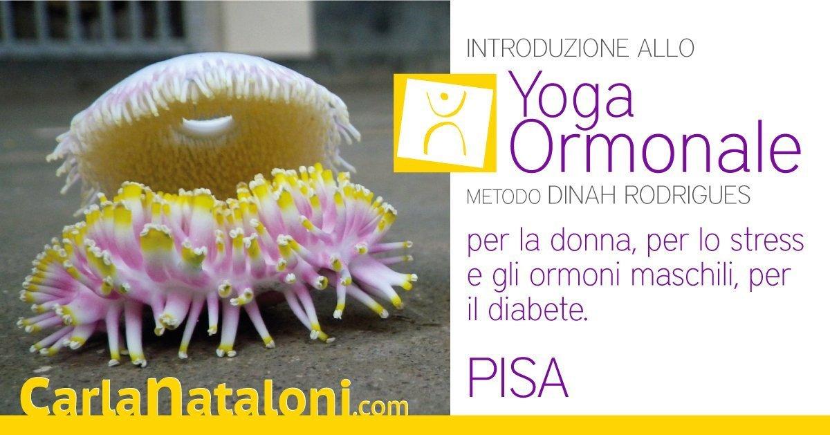 PIsa: Introduzione allo Yoga Ormonale per la donna, per lo stress e gli ormoni maschili, per il diabete
