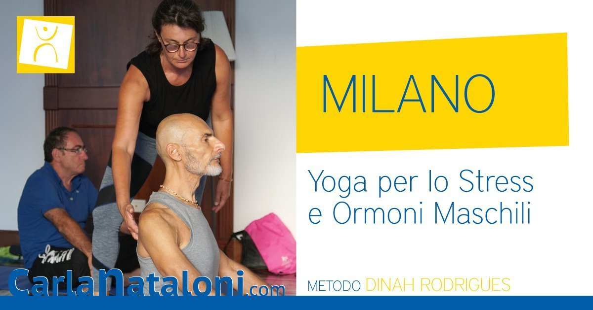 MILANO-YOGA  ORMONALE UOMO
