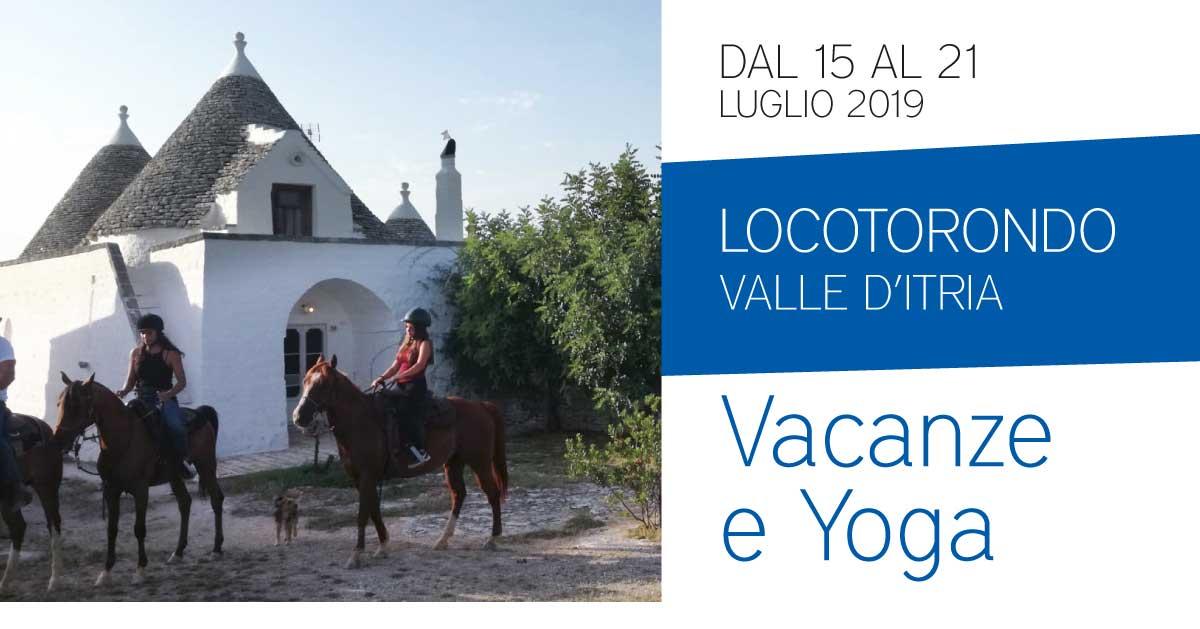 Vacanze e Yoga in Valle d'Itria: trulli