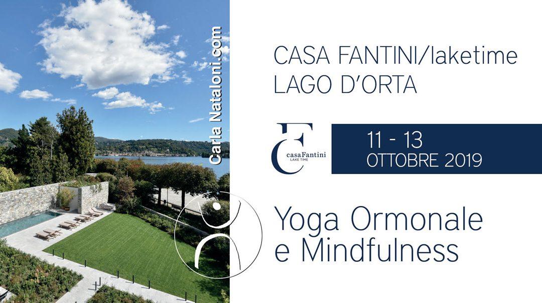 Week end experience casa Fantini: Yoga Ormonale e Mindfulness