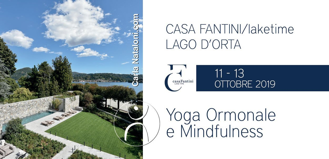 Week end experience casa Fantini: Yoga Ormonale e Mindfulness