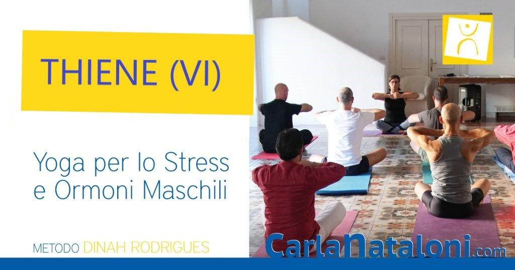 Workshop di yoga ormonale per lo stress e gli ormoni maschili – THIENE