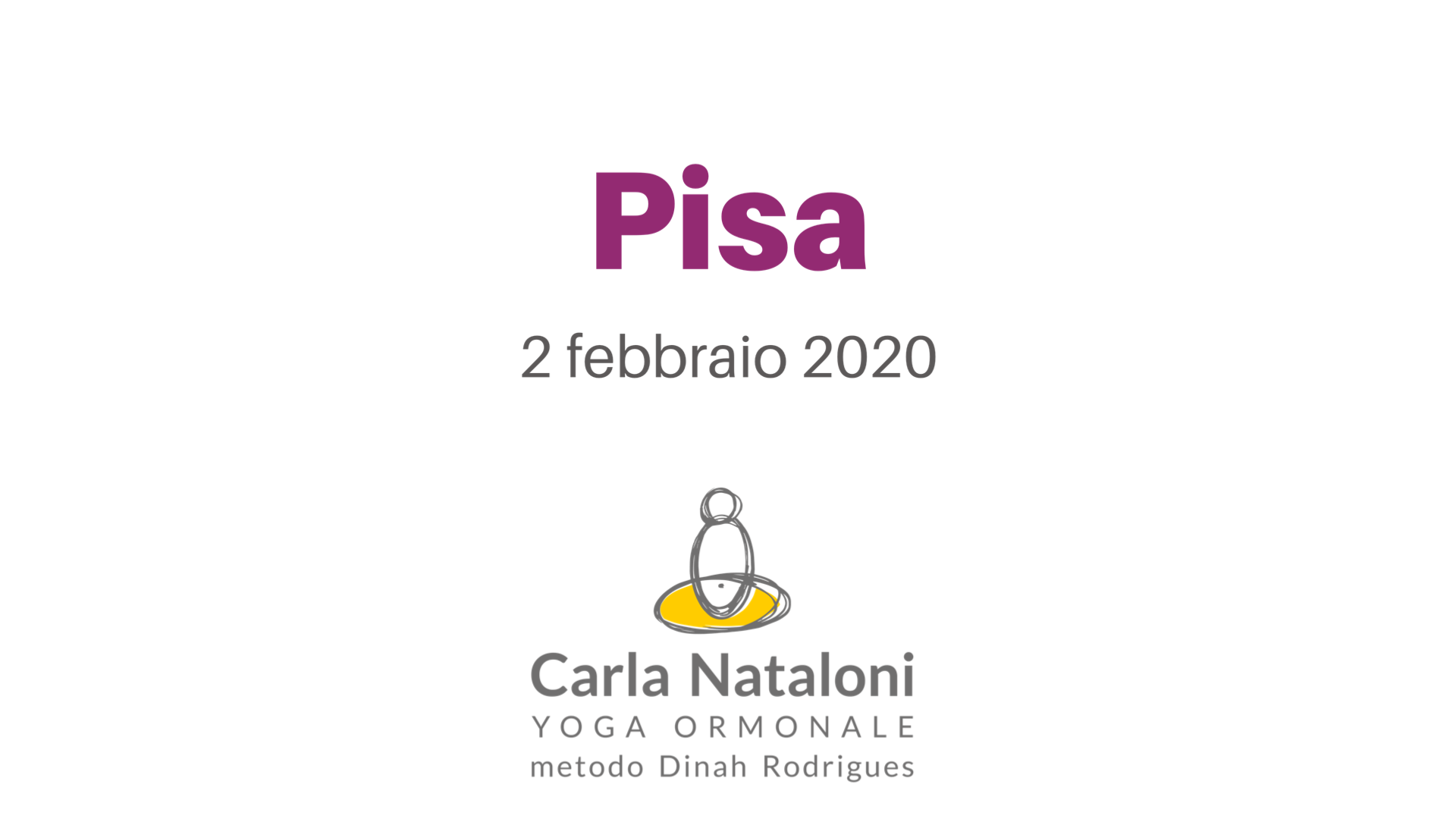 pisa yoga ormonale