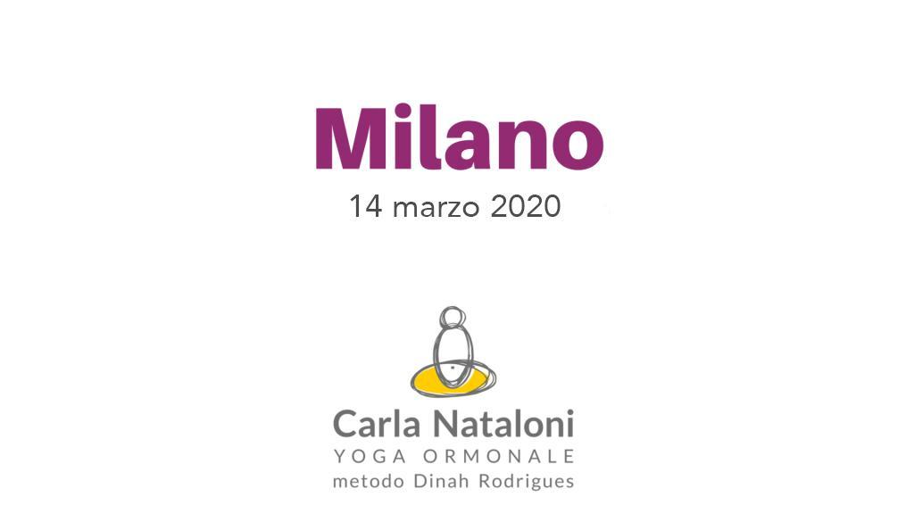 MILANO, Ripetizione sequenza Yoga Ormonale - DATA ANNULLATA