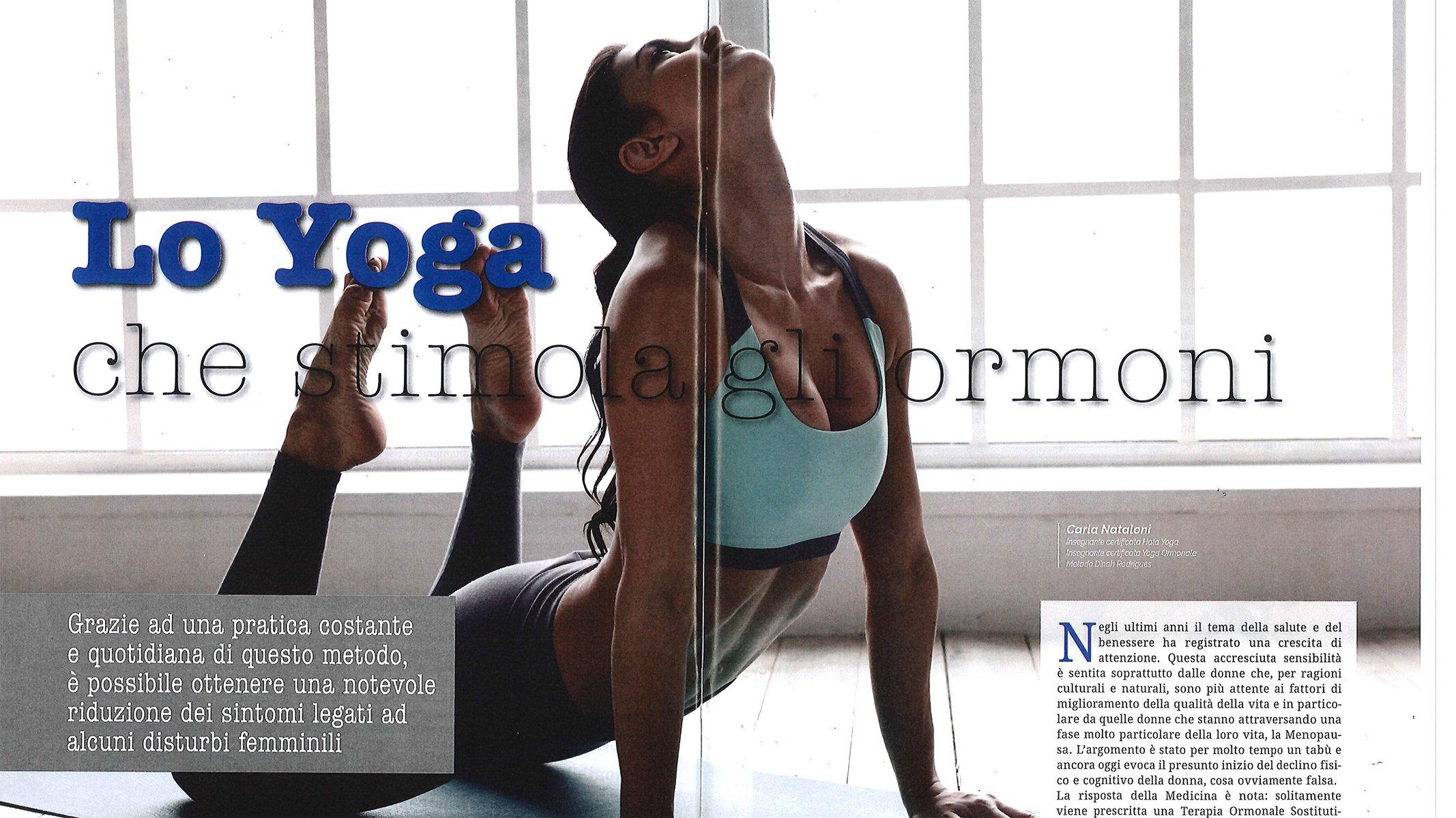 lo yoga che stimola gli ormoni