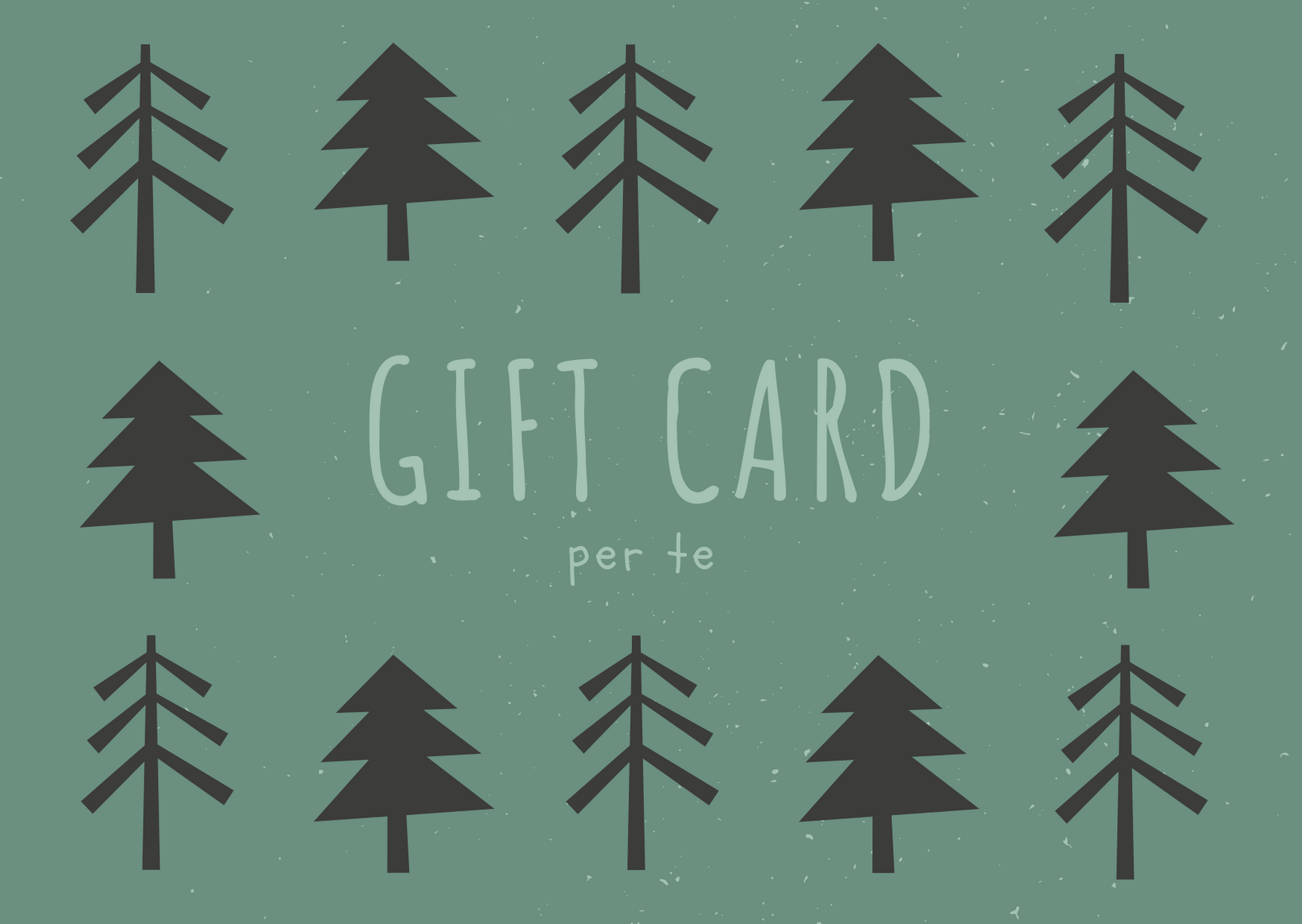 Gift Card Natale   MEDITAZIONE