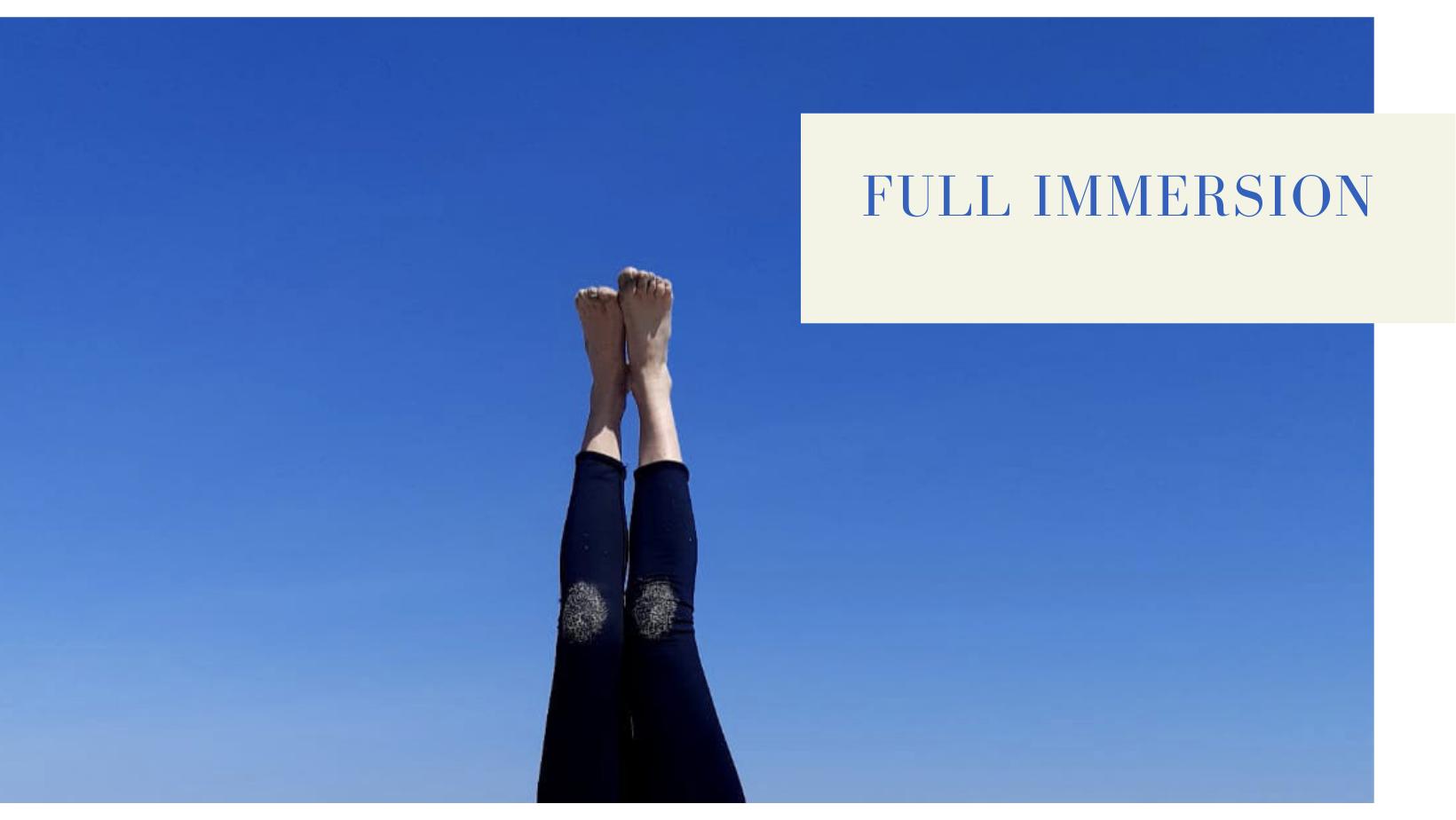 Corso di gruppo online FULL IMMERSION di Yoga Ormonale