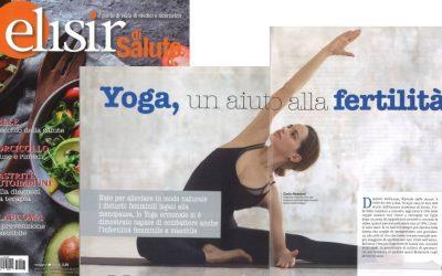 Yoga, un'aiuto alla infertilità – Di Carla Nataloni per Elisir di salute