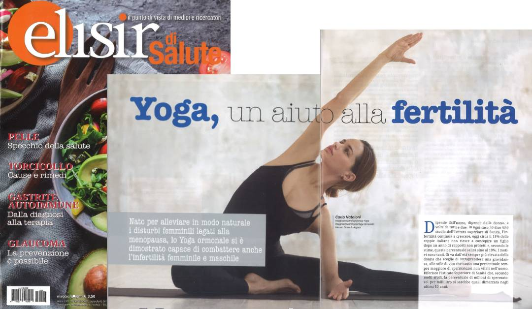 Elisir - Yoga un aiuto all'infertilita - Yoga-Ormonale